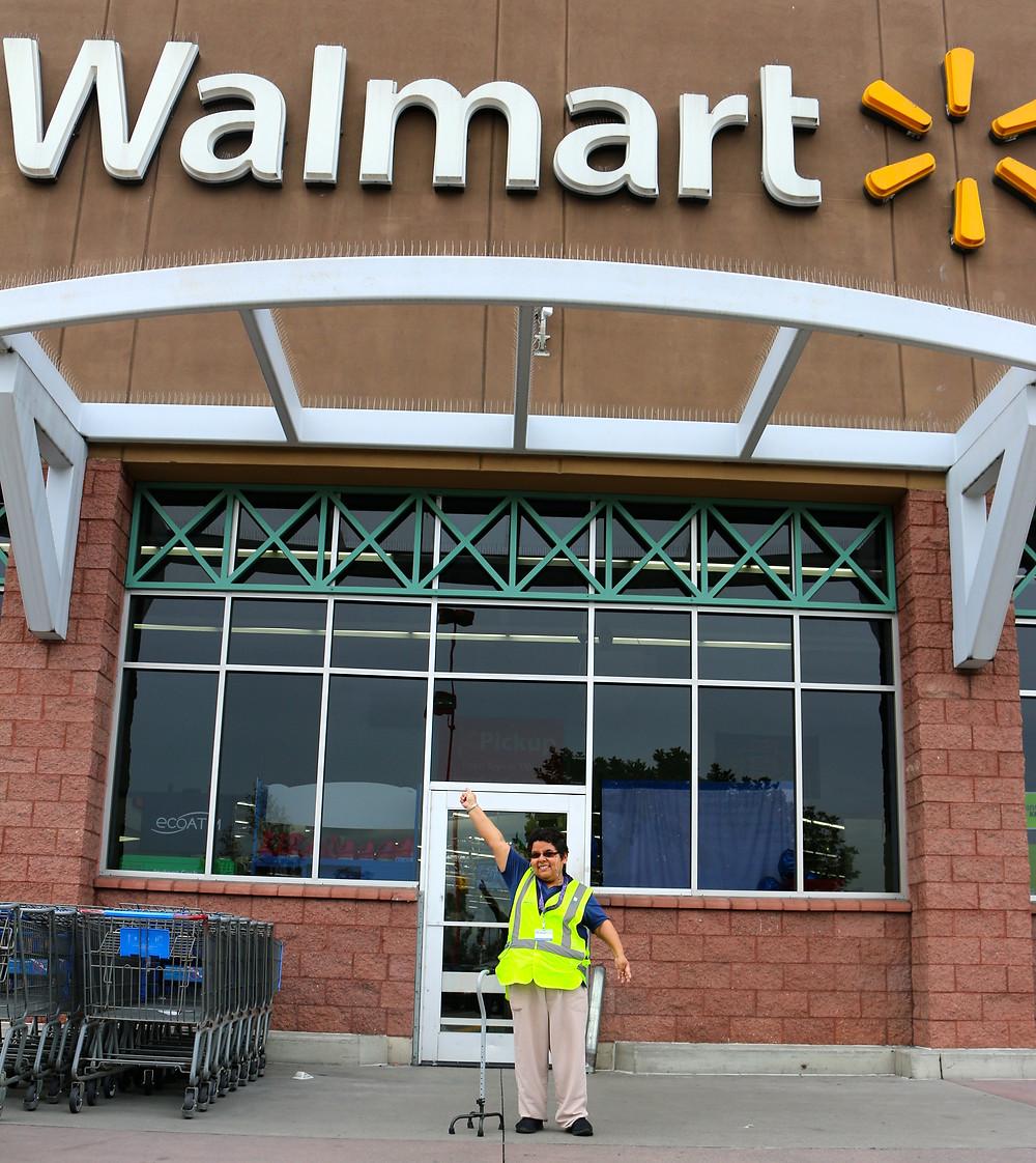 Andrea at Walmart