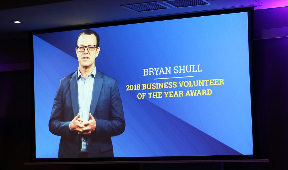 Bryan Shull Business Volunteer of the Year