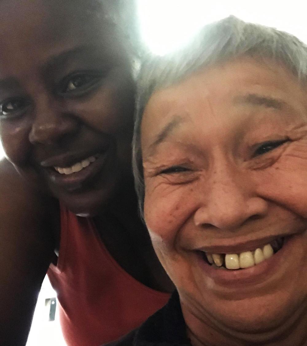 Evaline and Esther TMI Transforming Lives Gala