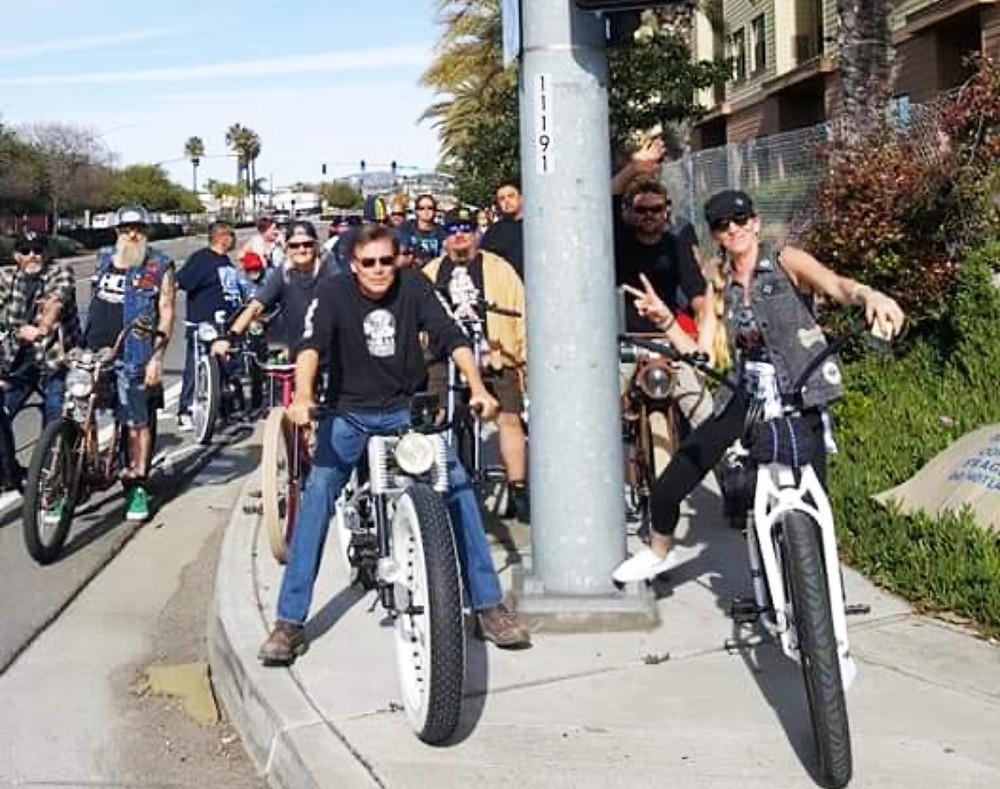 Bud's memorial bike ride.