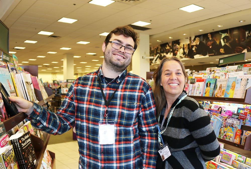 Robert and his TMI Facilitator Laura Scott