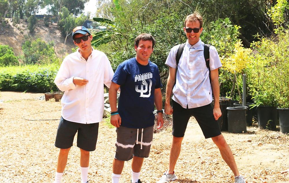 Scott, Ryan and Derek