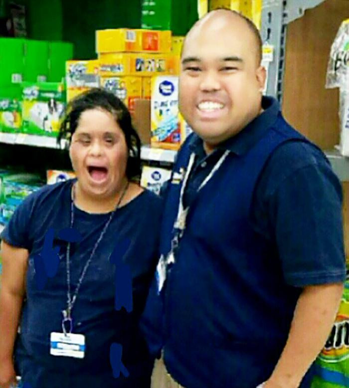 Michael and Norma at Walmart