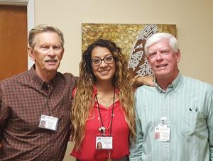 Roger Orstad, Rebeca Valenzuela and Pat Campbell