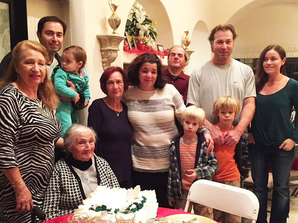 Maria enjoying time with her family.