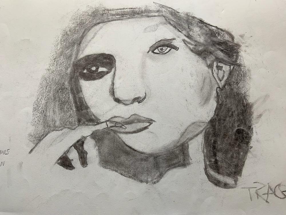 Trace's artwork
