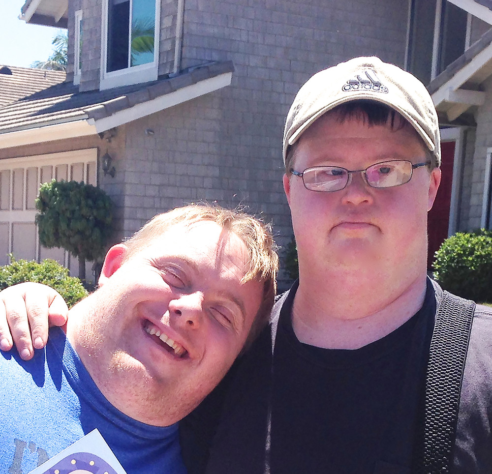 Trevor and Casey Down Syndrome Awareness Month