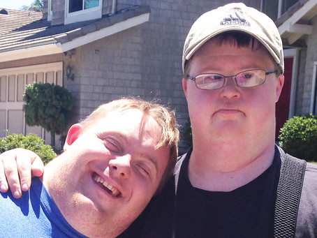 Trevor & Casey: Best Buddies! Down Syndrome Awareness Month