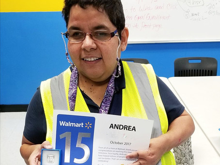 An Opportunity for Independence Goes a Long Way For Andrea