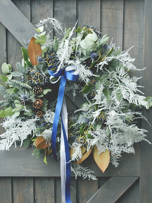 Silent Night Wreath