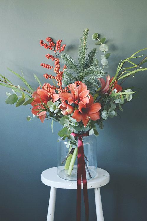 Amaryllis Festive Bouquet