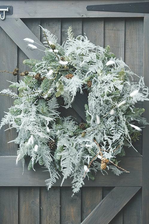 White Forest Wreath