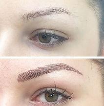 Semi permnent makeup