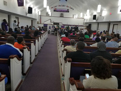 Candidate forum church picture