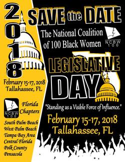 NC100BW - 2018 Legislative Days (Save the Date Flyer)