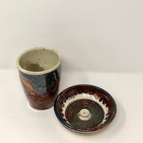 Incense Bowl & Storrage Cup