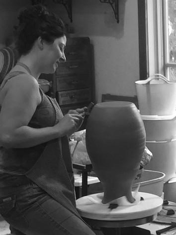 Studio-Trimming VaseI