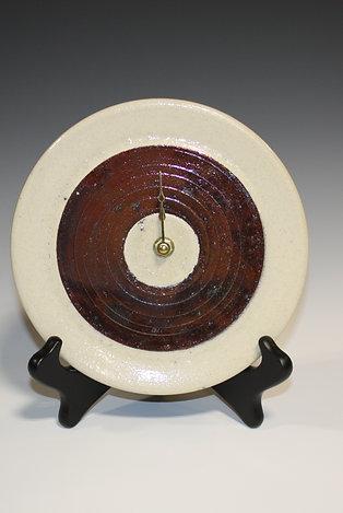 Raku Clock-Circle