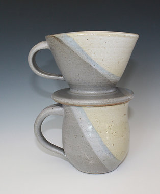 Coffee Pour Over & Mug Set