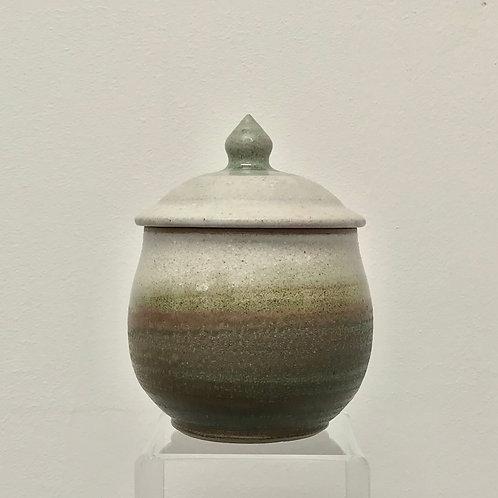 Stoneware Lidded Jar