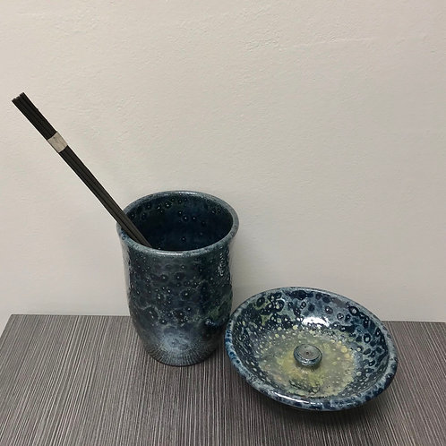 Incense Bowl & Storrage Cup
