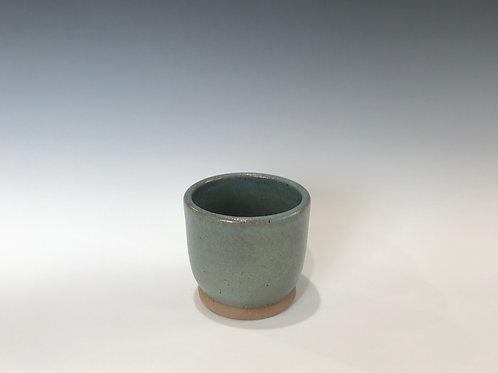 Stoneware Starter Pot/Planter-Turquoise Glaze