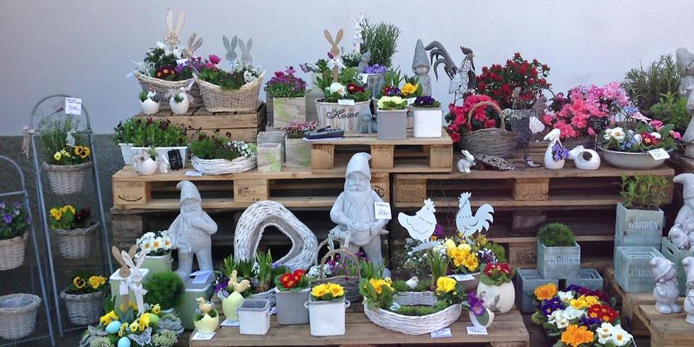 Prodej jarních dekorací