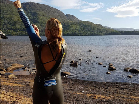 OPEN WATER SWIM TIPS: WETSUIT