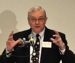 한미국가조찬기도회에서 조지 하튼 워싱턴 신학대학 총장