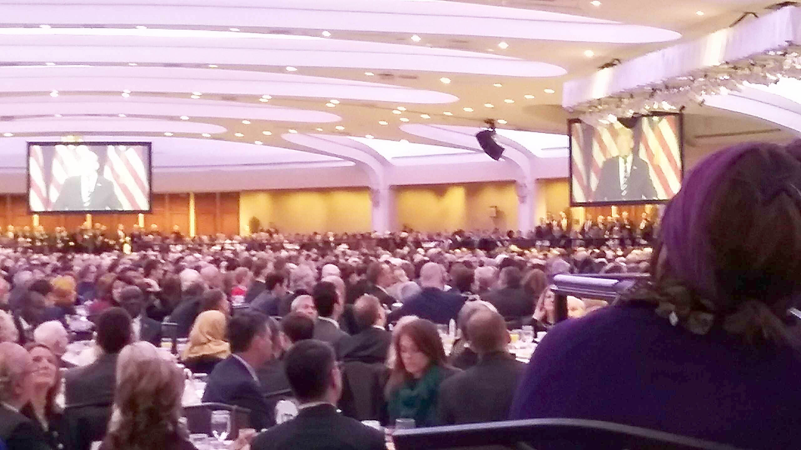 U.S. Nat'l Prayer Breakfast, 2/2018