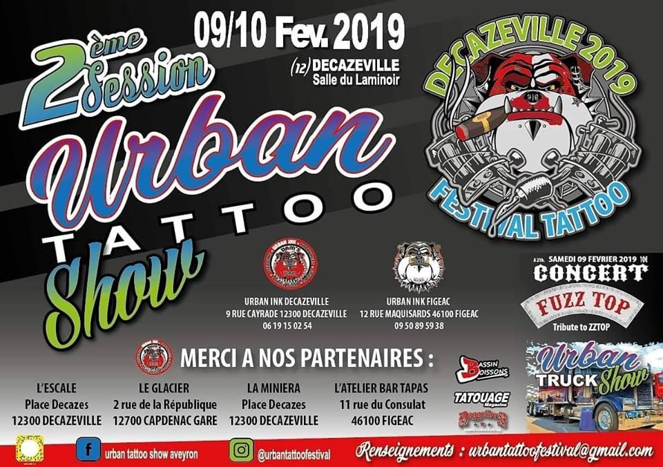 urban tatoo show affiche