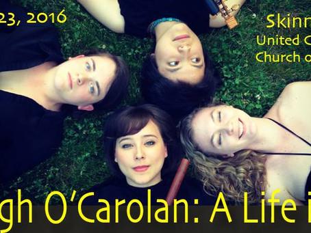 Kickoff Concert Turlough O'Carolan: A Life in Song
