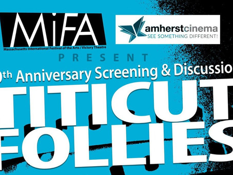 Titicut Follies of 50th Anniversary Screening & Discussion with Frederick Wiseman