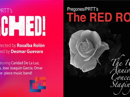 TORCHED! & THE RED ROSE - Virtual Event