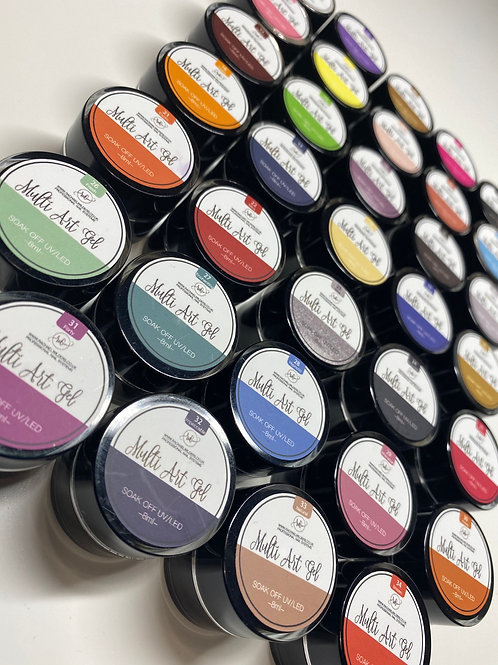 Multi Art Gel Paint FULL COLLECTION