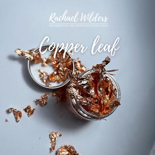 Jar of copper leaf/foil