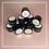 Thumbnail: 4d Art Gel 8ml no. 12 BRIGHT PINK (sculpting gel for flowers etc)