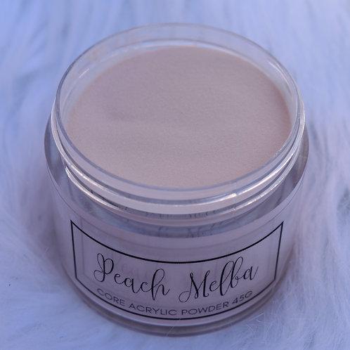 Peach Melba Core Acrylic Powder 150g