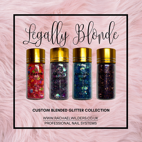 Legally Blonde Glitter Collection