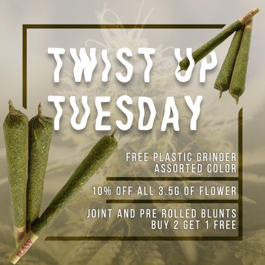 Twist Up Tuesday