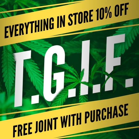 TGIF 10% OFF