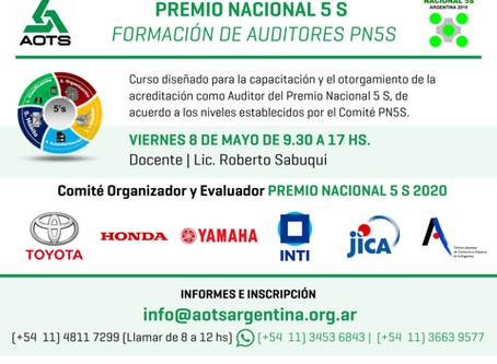 Curso Formación de auditores del PN5s, POSTERGADO