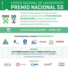 Lanzamiento del Premio Nacional 5s edición 2021