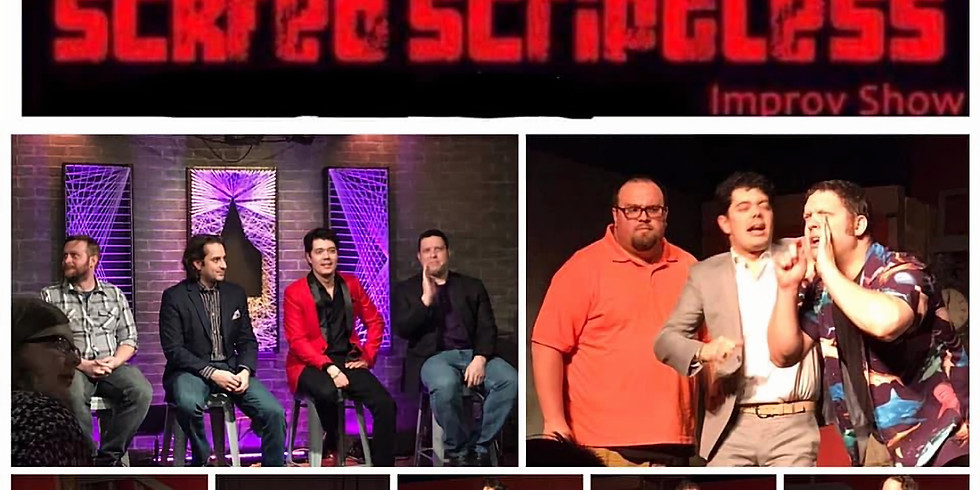 Scared Scriptless Improv Show