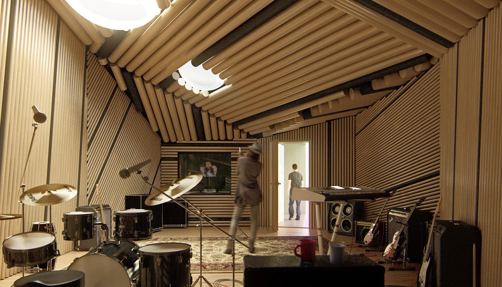 rehearsal & recording studio
