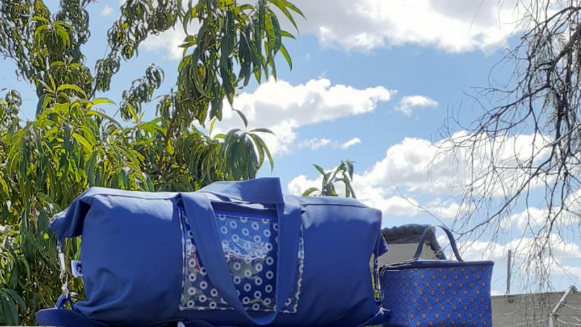Seshoeshoe Duffle Bag