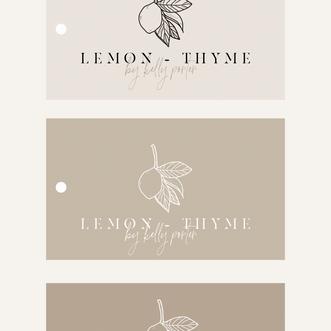 Lemon + Thyme