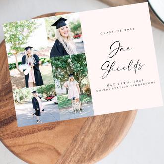 Jae's Graduation Invitations