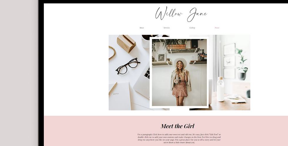 Willow Jane - Service Website Template