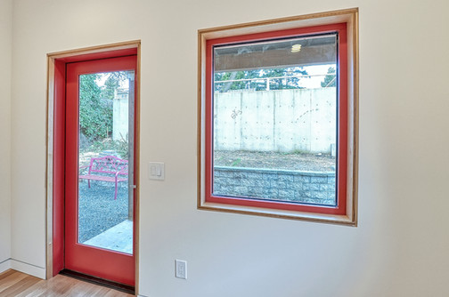 ADU Window Frame Detail